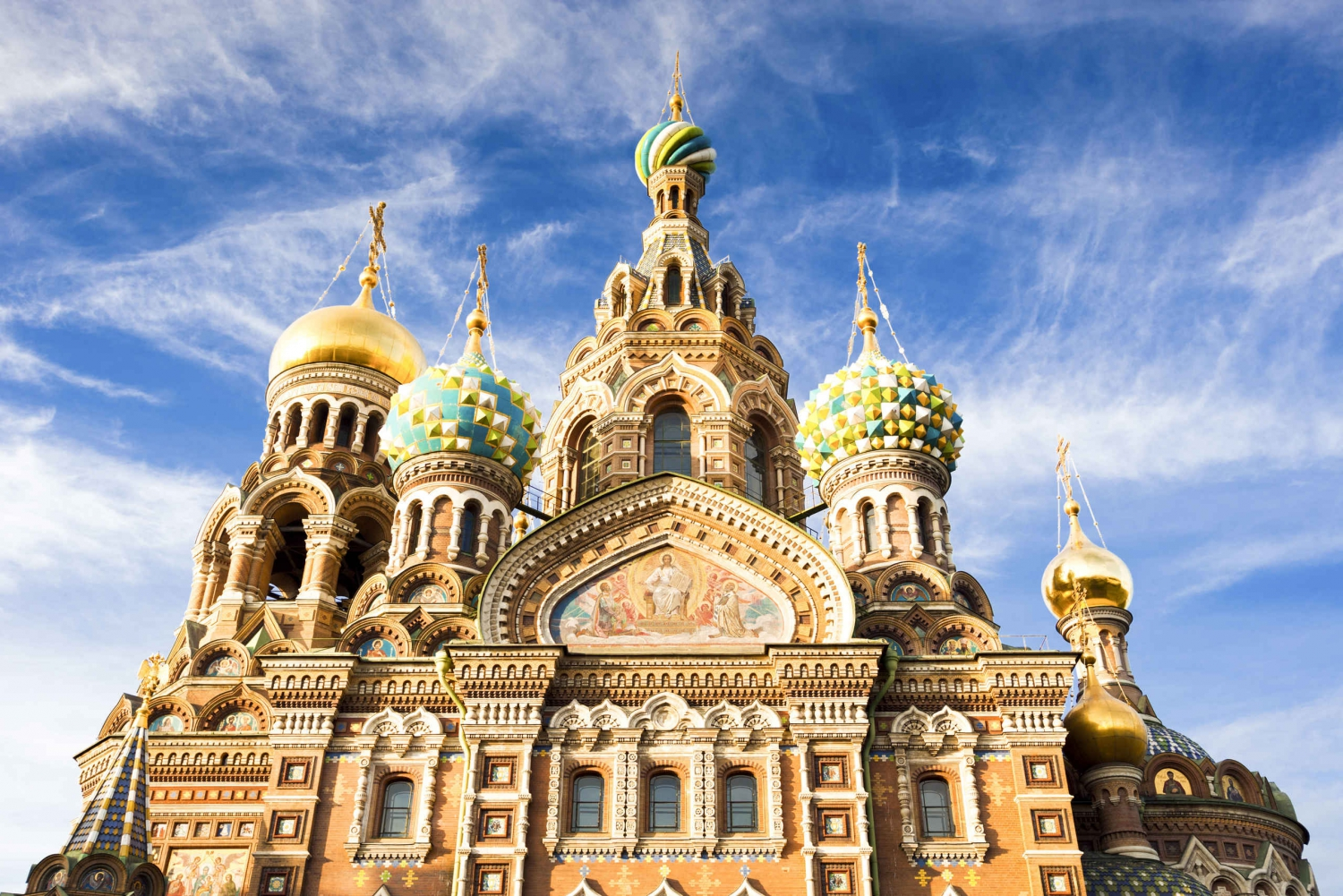 St. Petersburg City Group Tour by Bus