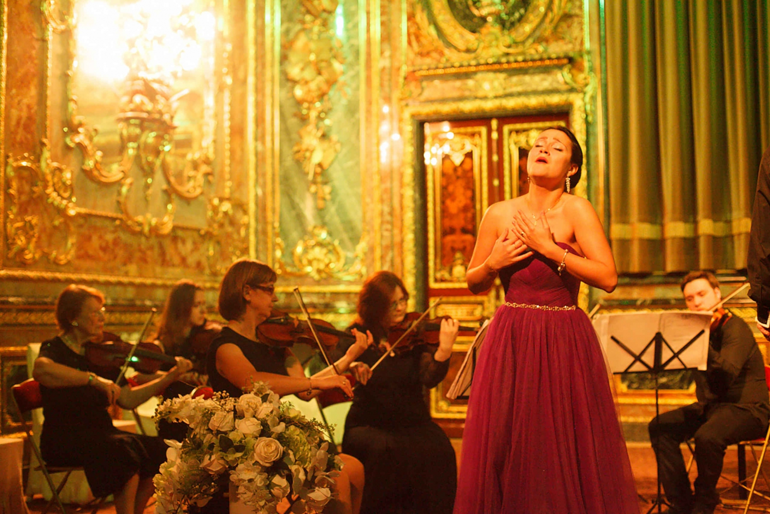 St. Petersburg: Classical Russian Music Concert in a Palace