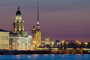 St. Petersburg: Evening Steamboat Tour with Audioguide