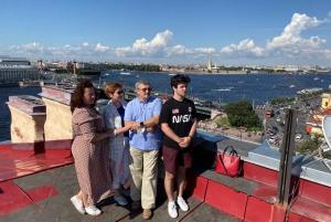 St. Petersburg: Exclusive Rooftop Experience