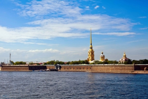St. Petersburg: Faberge Museum with River and Canal Cruise