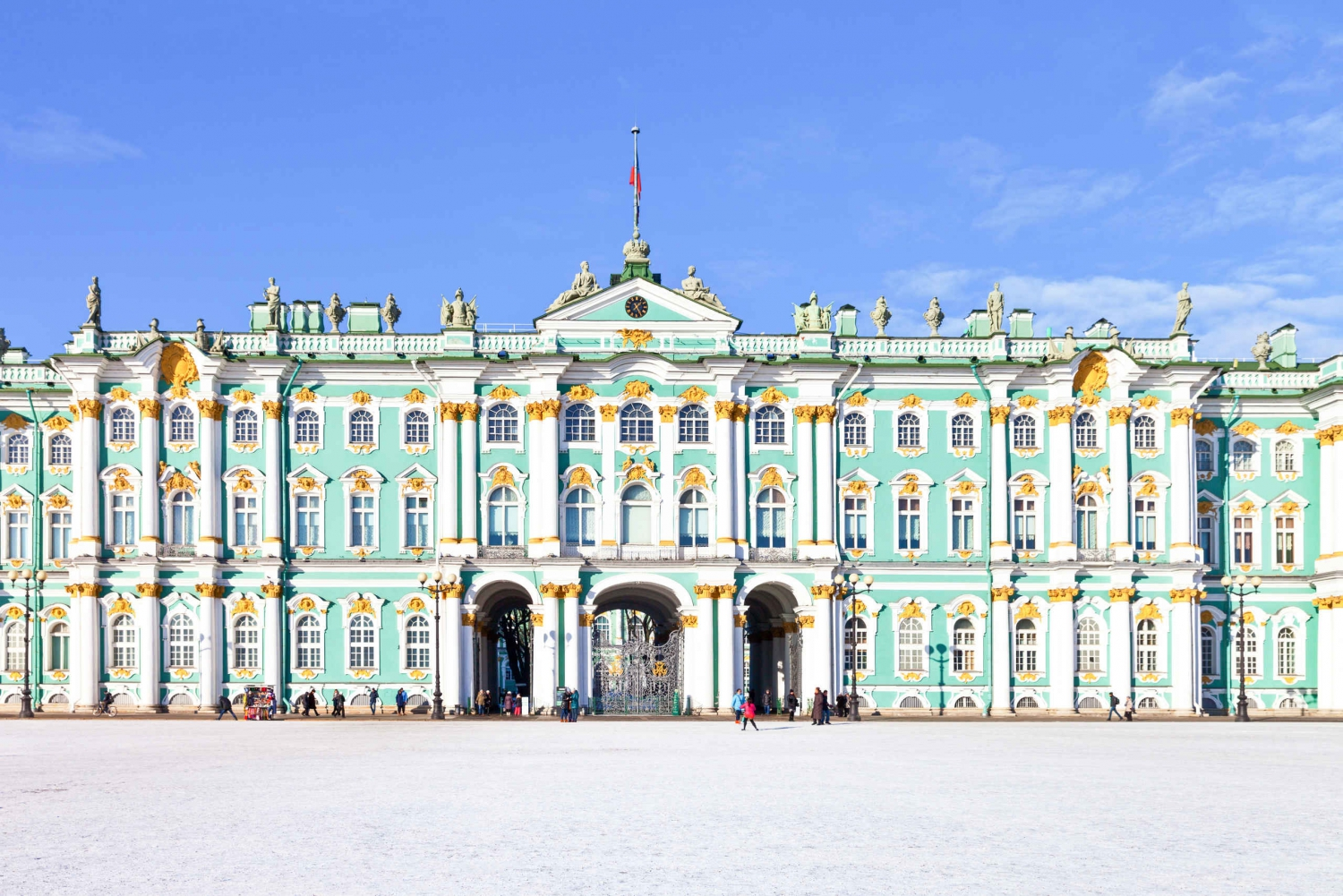 St. Petersburg: Hermitage Museum Private Tour with Pickup