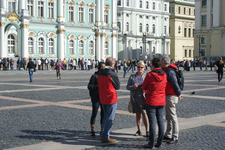 St. Petersburg Highlights Group Walking Tour