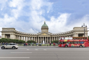 St. Petersburg: Hop-on Hop-off Bus and Boat Tour
