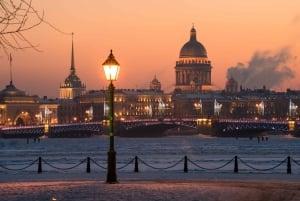 St. Petersburg: Illuminations Night City Tour