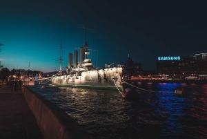 St. Petersburg: Magical Neva Cruise at Night in Russian