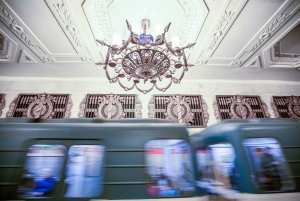 St. Petersburg Metro Stations 1.5-Hour Tour