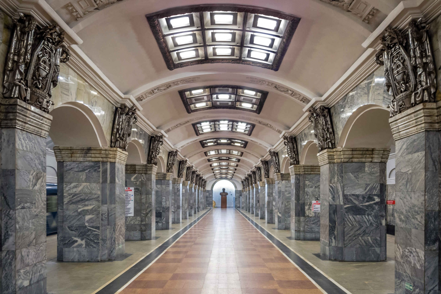 St. Petersburg Metro Stations 2-Hour Tour