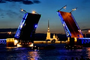 St. Petersburg: Night Cruise Peter and Paul Fortress Visit