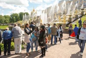 St. Petersburg: Peterhof Gardens by Hydrofoil