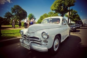 St.Petersburg: Private City Tour by Retro Car