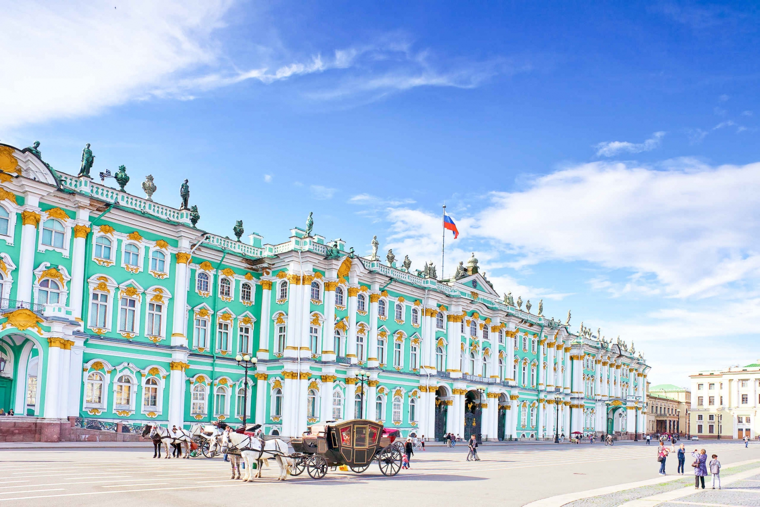 St. Petersburg: Skip-the-Line Hermitage Tour