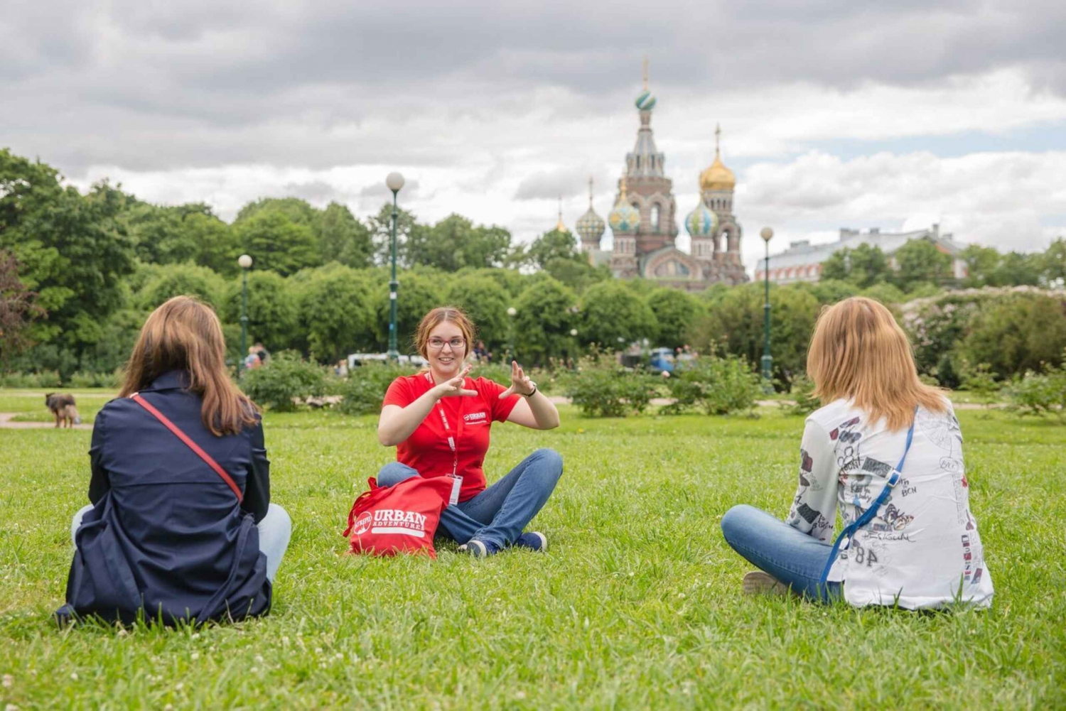 St. Petersburg: Small Group Walking Tour
