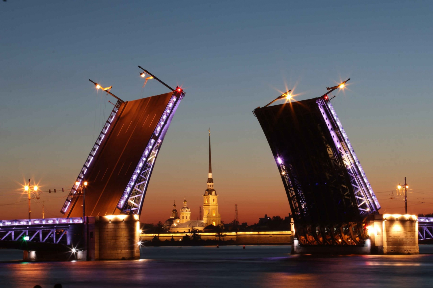 St Petersburg White Nights Boat Tour