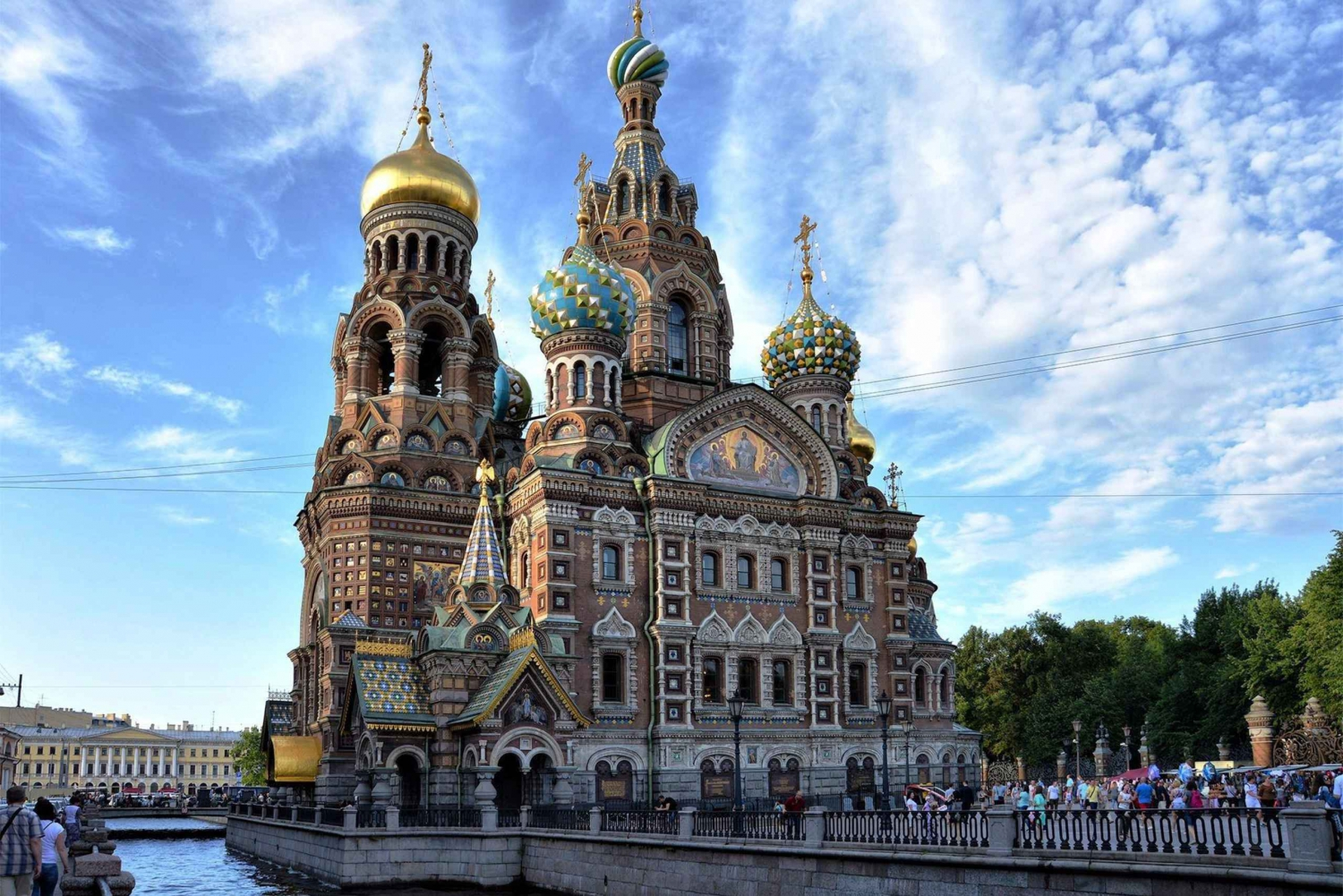 St Petersburg with Boat Trip & Free Time