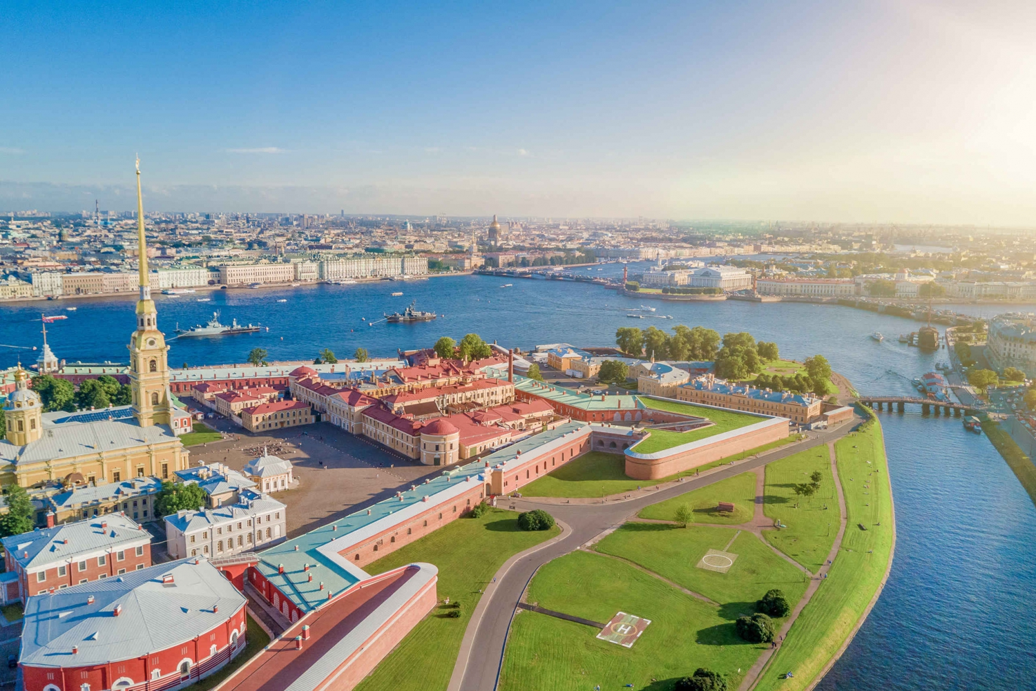 St. Petersburg's Peter and Paul Fortress Walking Tour