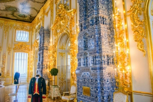 Tour of Catherine and Pavlovsk Palaces from Saint Petersburg