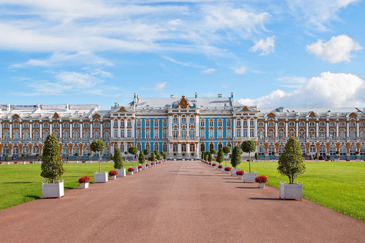Tour to Catherine Palace and Amber Room in Pushkin