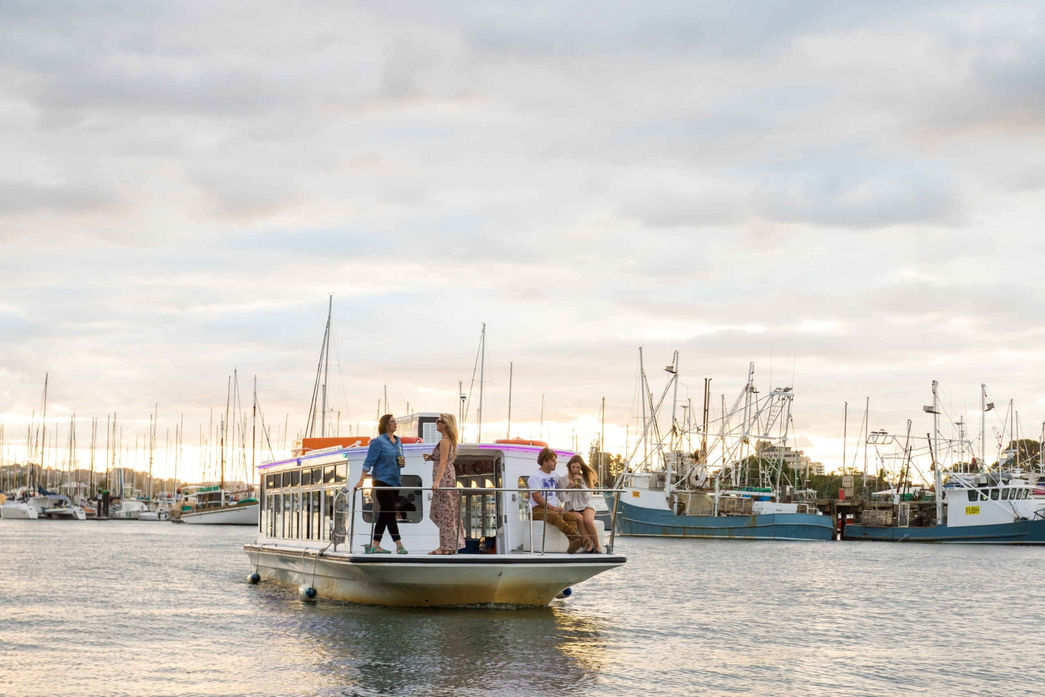 Mooloolaba: Seafood Lunch Cruise