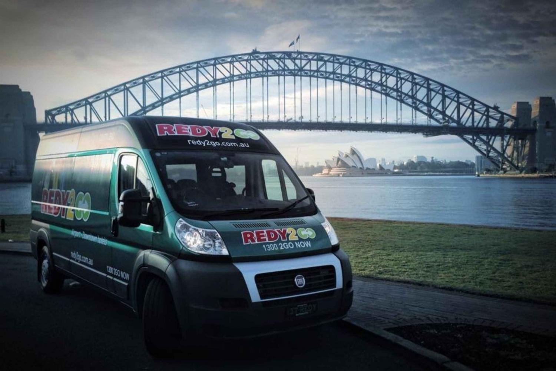 Airport shuttle: Sydney CBD to Airport premium service