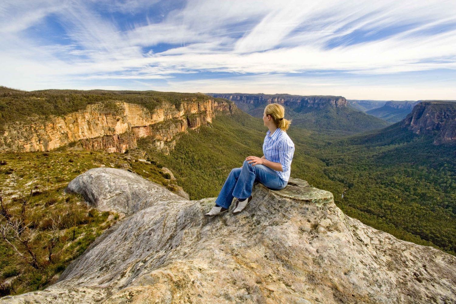 Blue Mountain Sunset, Bushwalk & Wilderness Tour