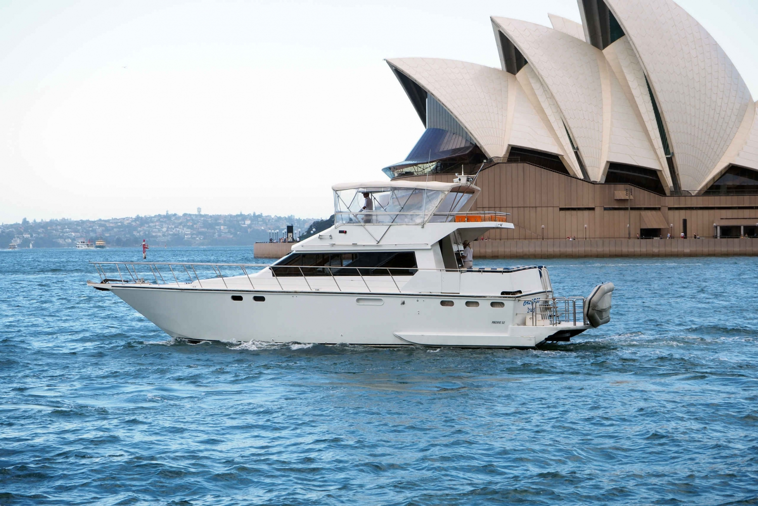 Harbour Cruise with Gourmet BBQ Lunch, Beer and Wine