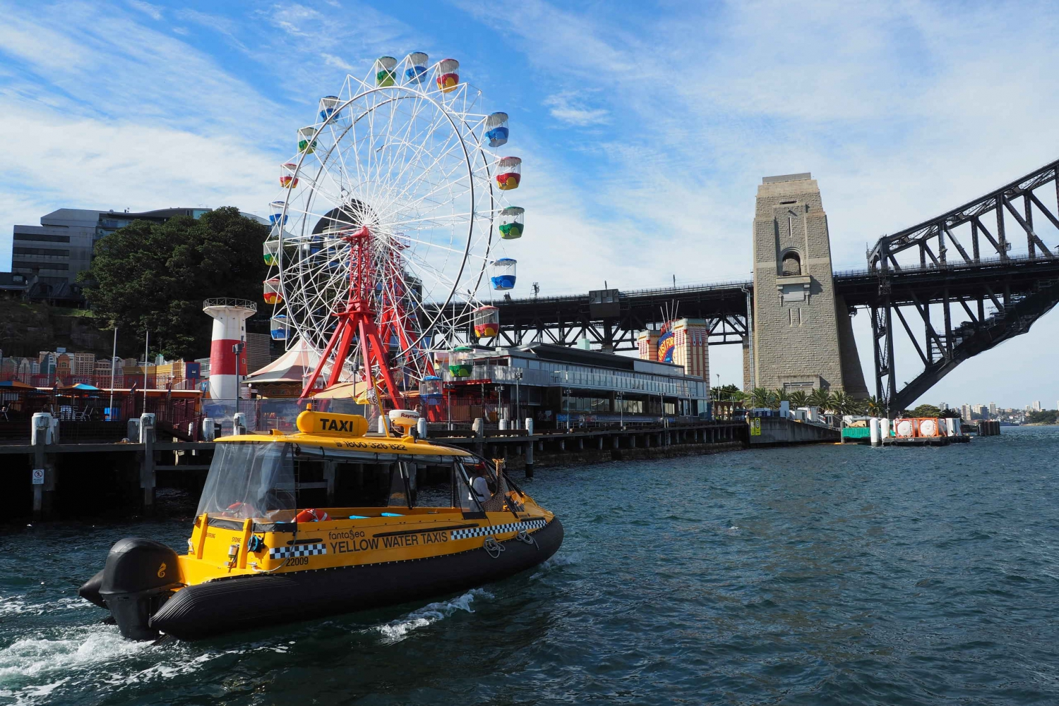 Harbour Water Taxi and Luna Park Entry Ticket