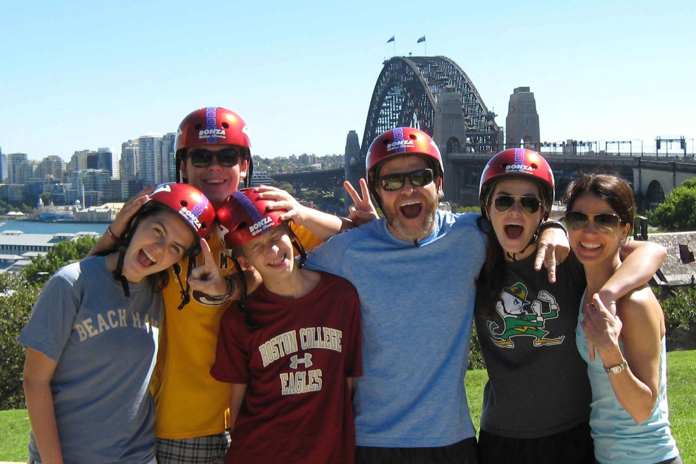 Scenic Sydney Harbour Bridge Bicycle Ride