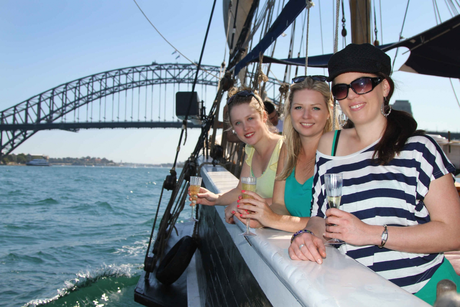 Sydney Harbor Tall Ship Champagne Brunch Cruise