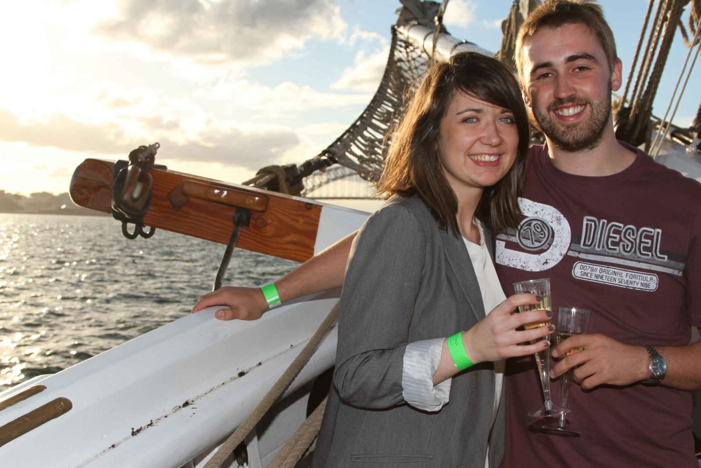 Sydney Harbor Tall Ship Wine & Canapés Evening Cruise