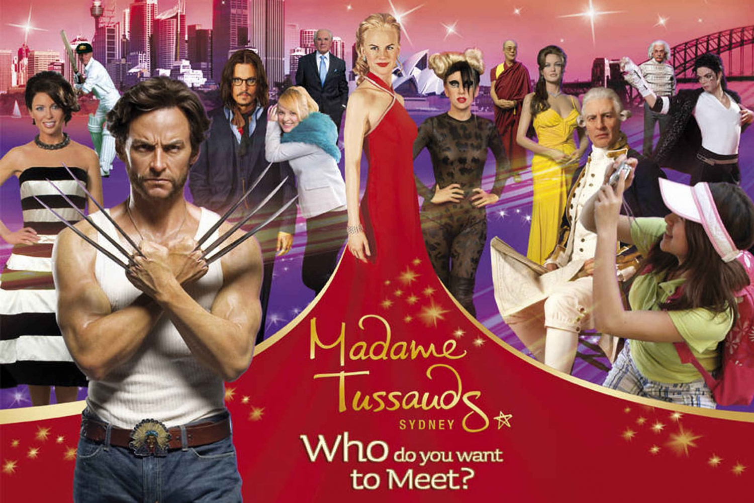 Sydney Harbour: 30-Minute Jet Ride + Madame Tussauds Combo