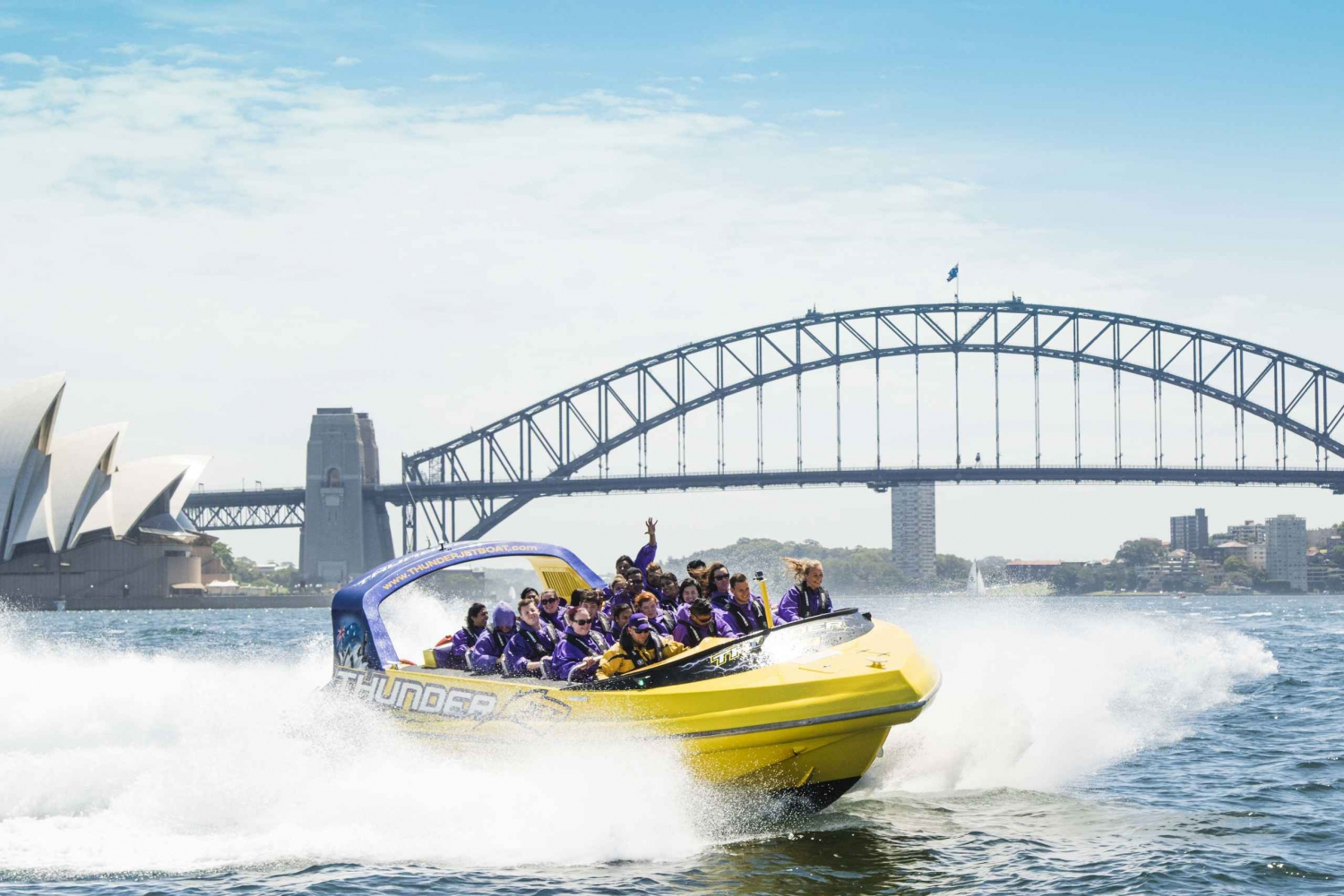 Sydney Harbour: 45-Minute Extreme Adrenaline Rush Ride