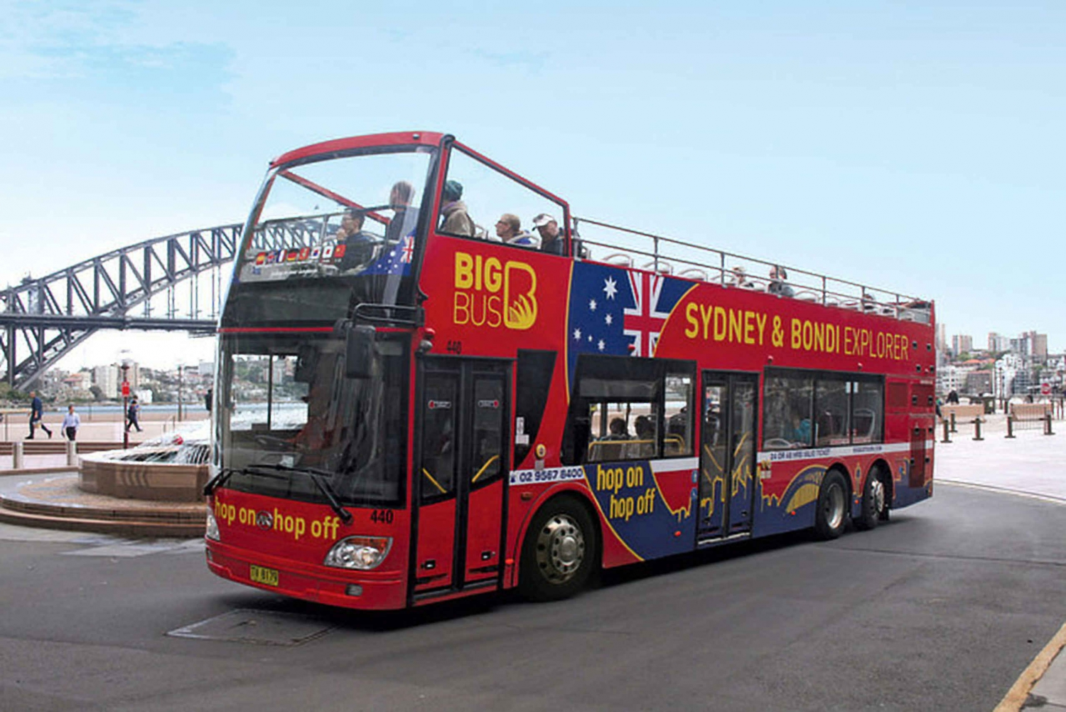 Sydney Harbour: 45-Minute Jet Boat Ride + City Sightseeing