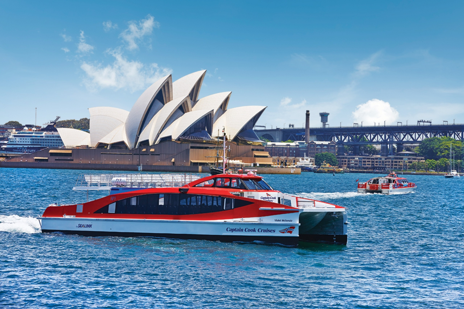 Sydney Harbour Cruise, Taronga Zoo and Sky Safari