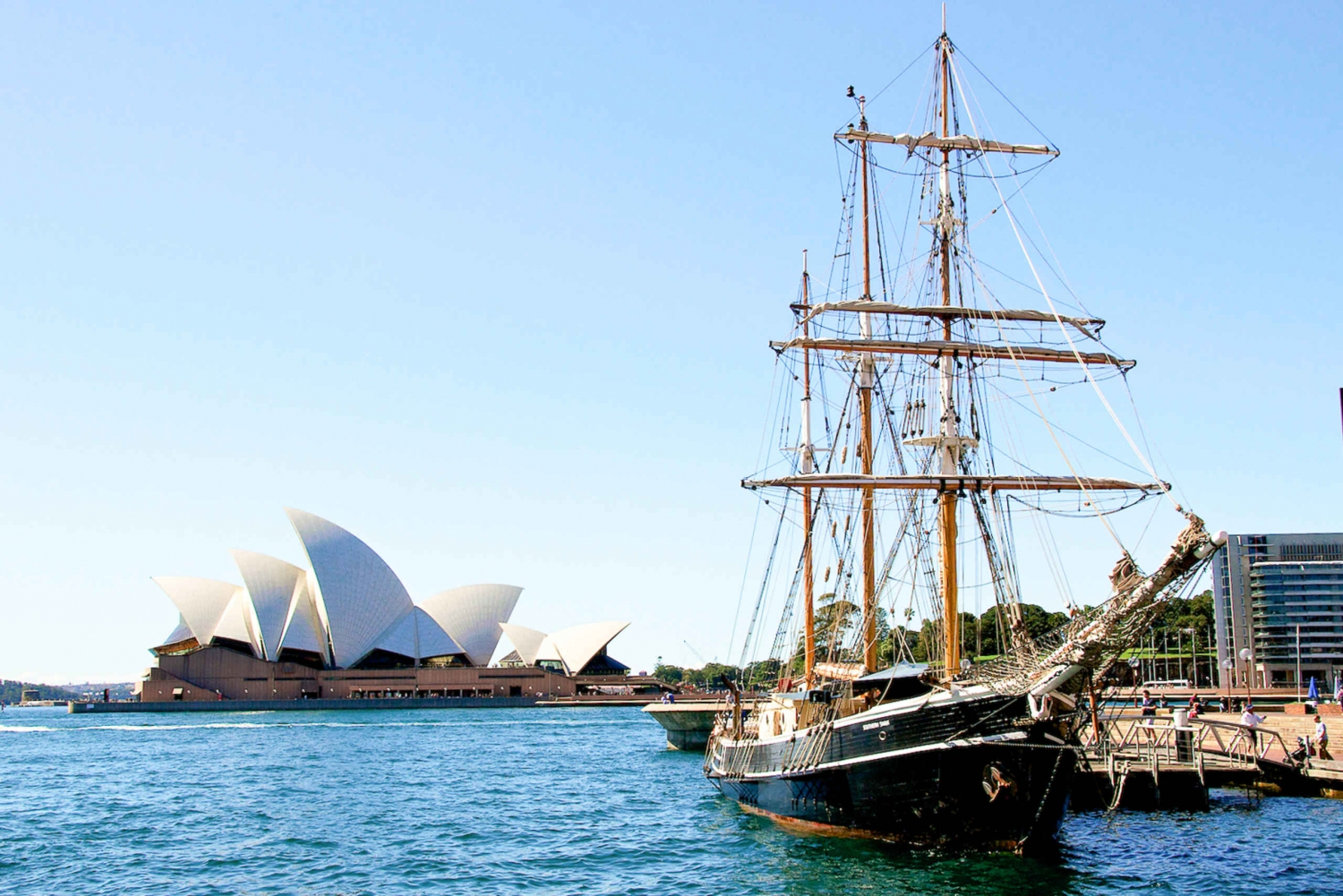 Sydney Harbour Tall Ship Afternoon Cruise
