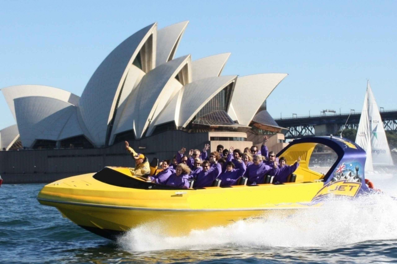 Sydney Harbour: Thunder Twist Ride