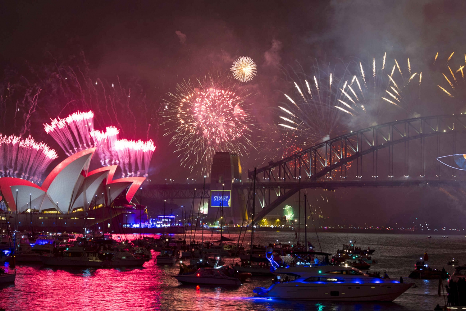 Sydney New Year's Eve 9:00 PM Family Fireworks Cruise