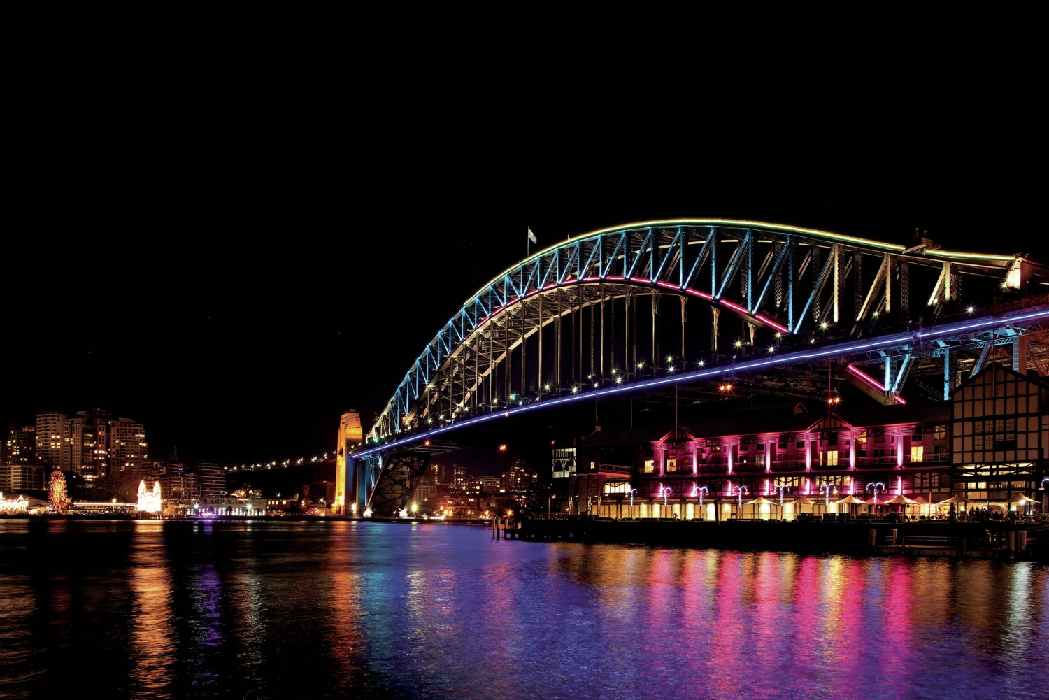 Vivid 2-Hour Cruise with Standing Buffet