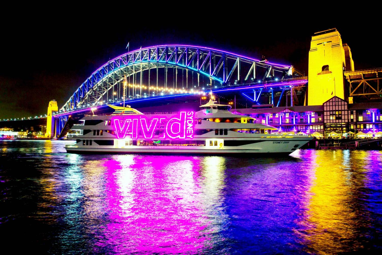 Vivid Sydney Festival 1-Hour Harbour Cruise