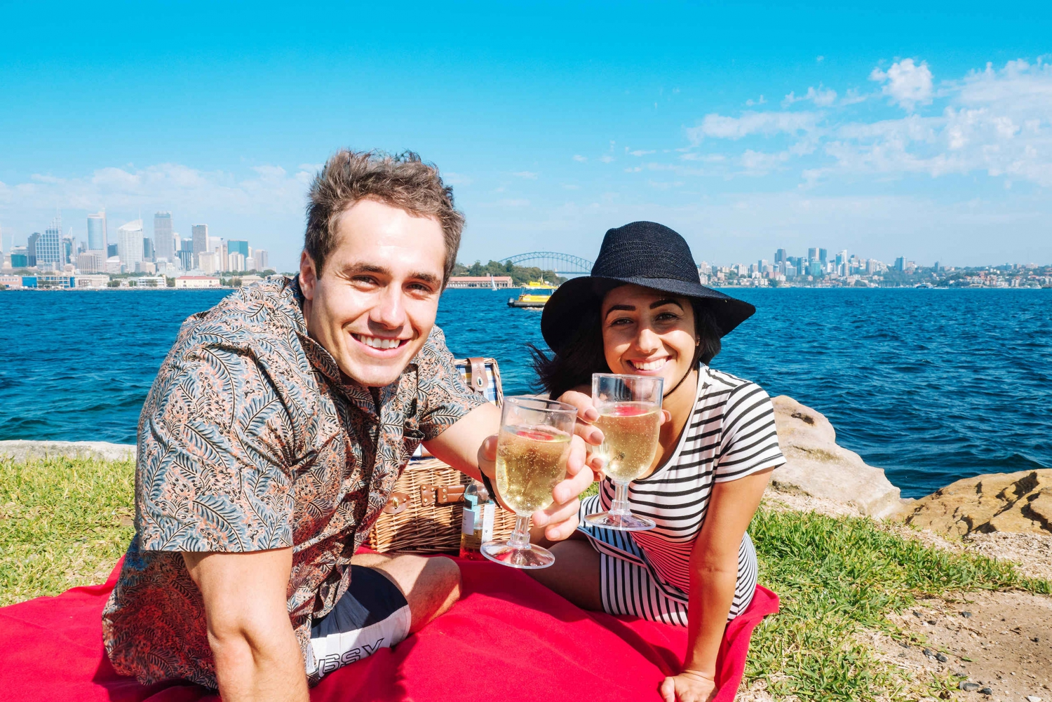 Water Taxi Cruise and Picnic on Sydney Harbor
