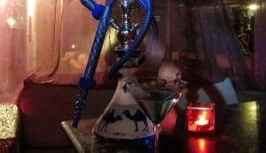 Playing Hookah Lounge Bar