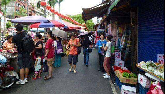 Shuanglian Morning Market