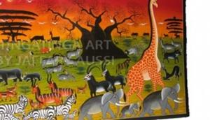 Modern Tingatinga Art Gallery