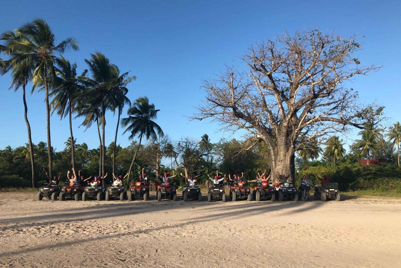 Zanzibar: Quad Bike Tour and Visit to Local Village