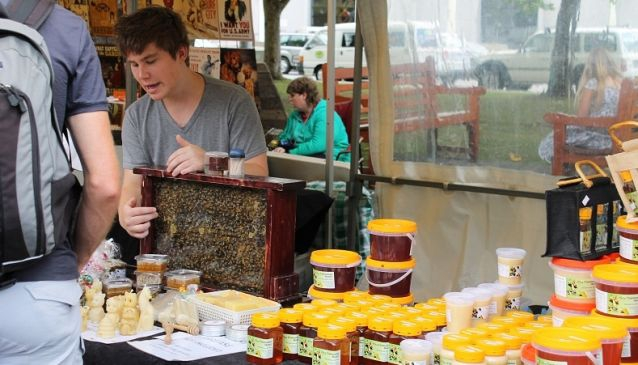 Tasmania's Pulse - Salamanca Market