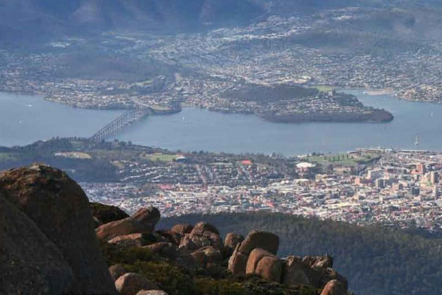 From Hobart: 2-Hour Mount Wellington Morning Tour