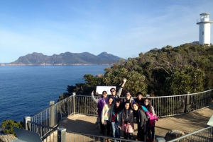 From Hobart: Wineglass Bay and Freycinet