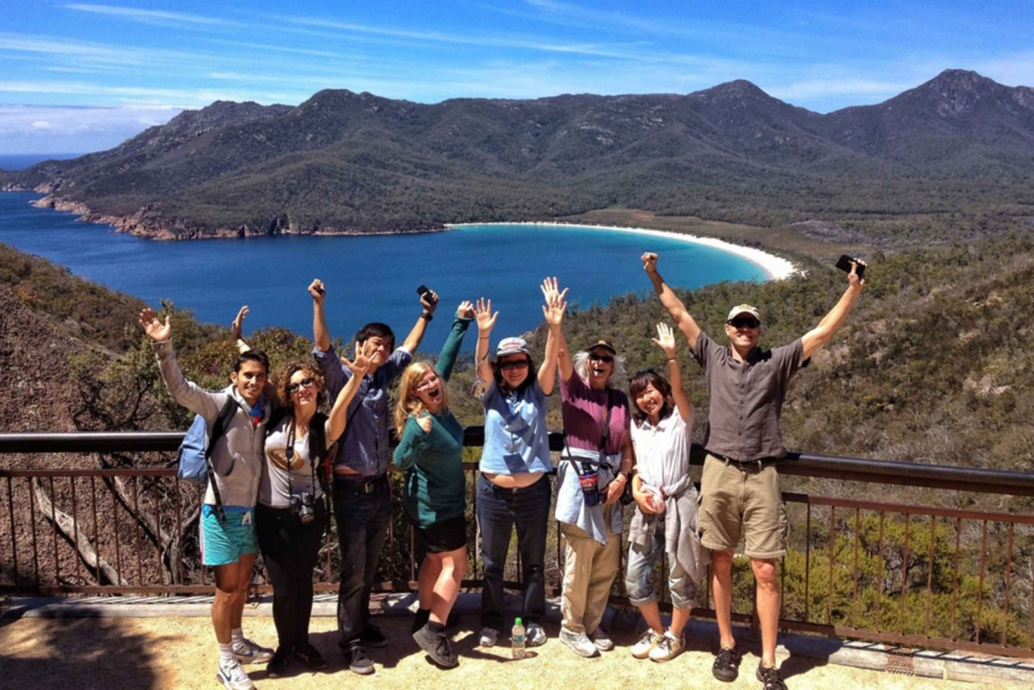 From Launceston: Full-Day Wineglass Bay Explorer Tour