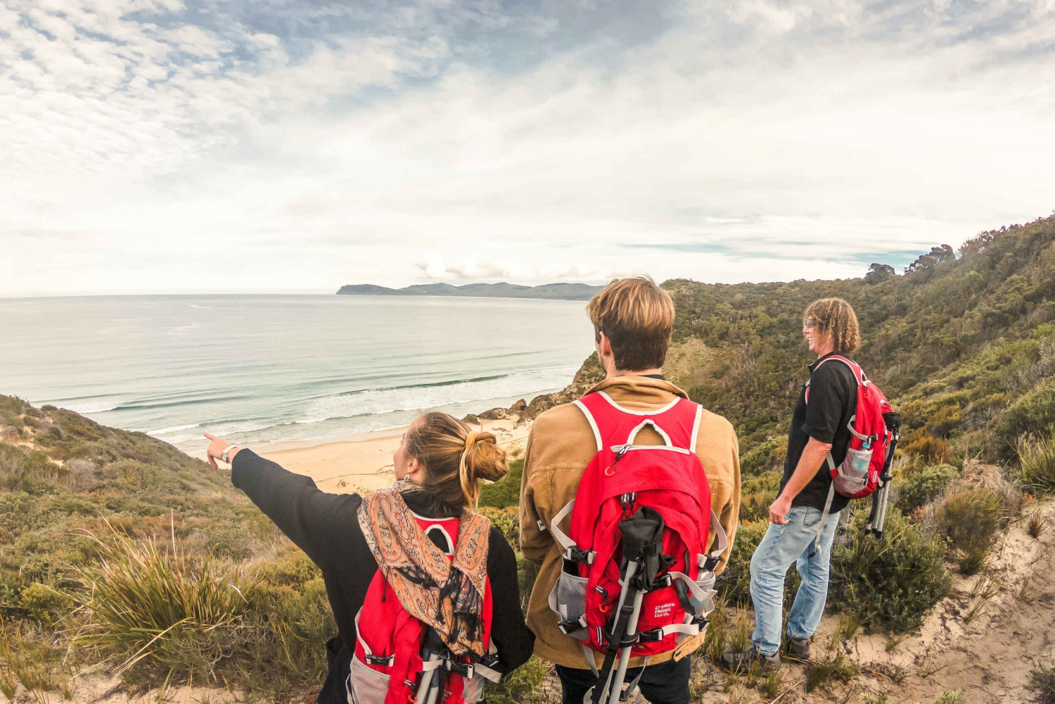 Hobart: Bruny Island Walking Tour to Mars Bluff with Lunch