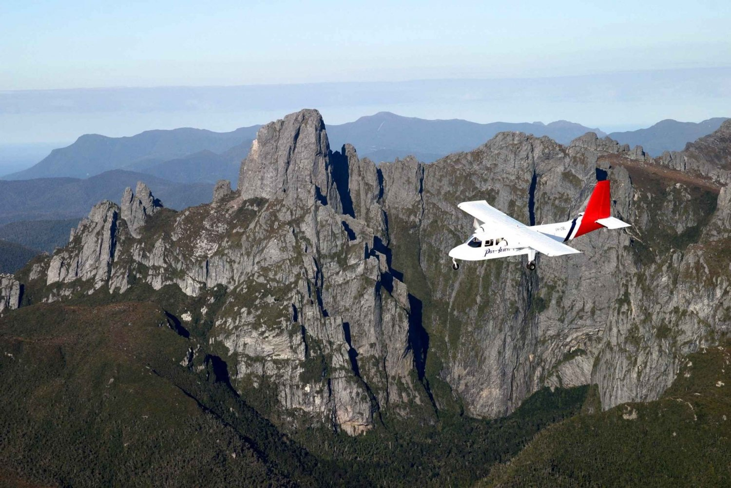 Hobart: Day Trip to National Park with Flights and Cruise